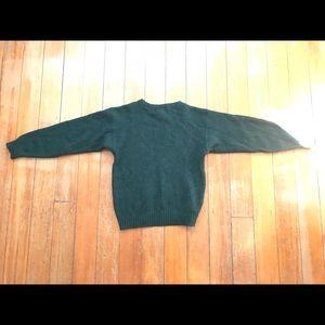 Green Pure Wool Jumper
